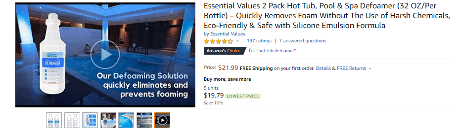 amazon advertising video in search